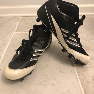 Adidas Scorch Cleats Football Lacrosse size 9